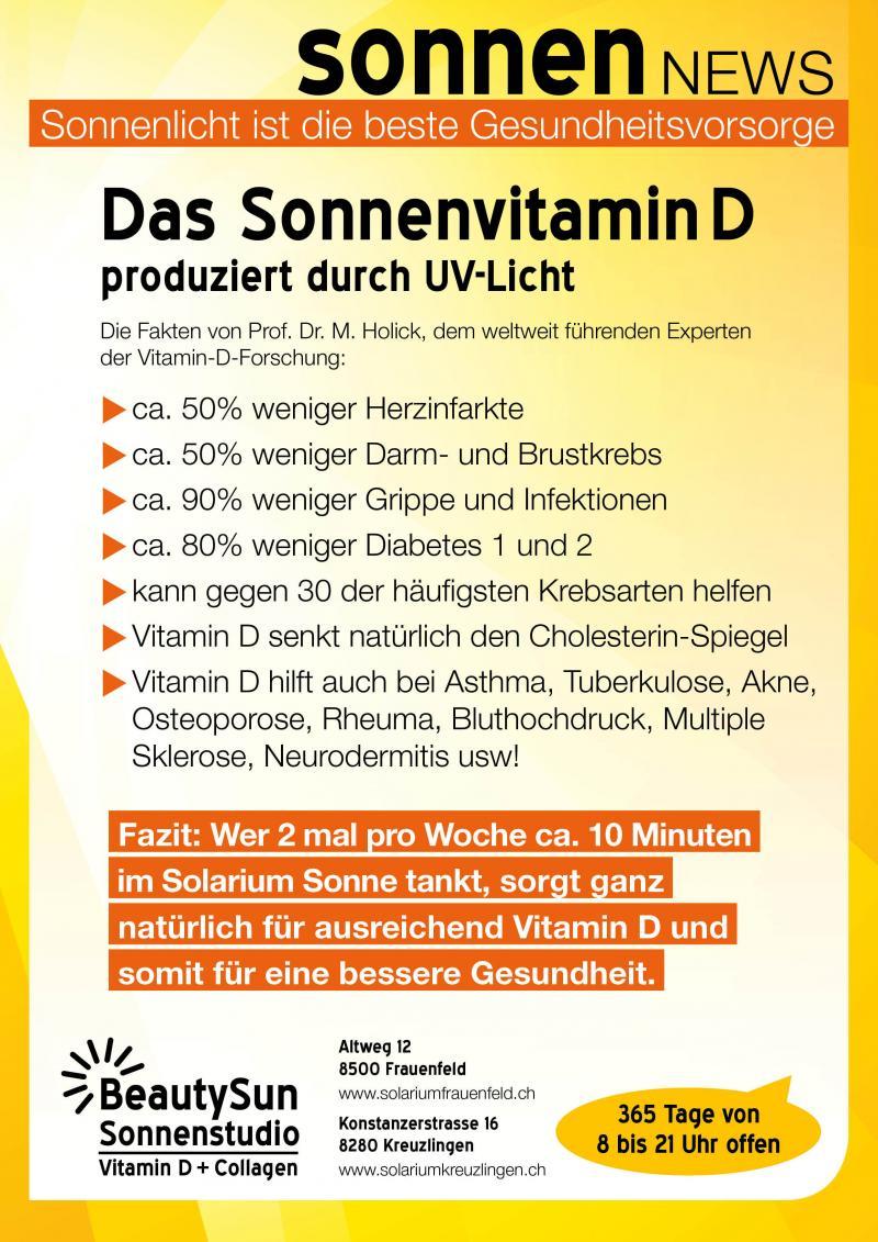 solarium d vitamin